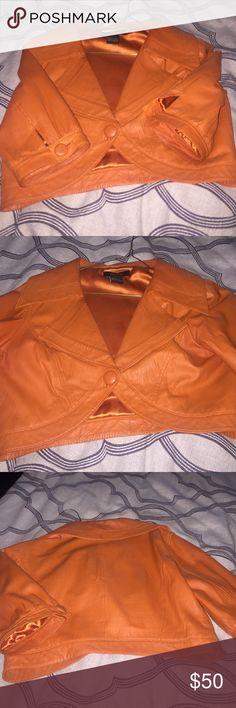 Crop jacket Arden b leather crop jacket shirt sleeves Arden B Jackets & Coats Blazers