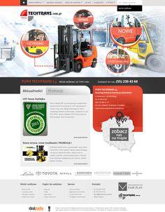 WebDesign 2013 - grafika dla firmy Techtrans