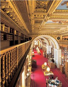 Bibliothèque © Photographes du Sénat