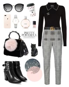 """""""Untitled #24"""" by kjllic on Polyvore featuring Nasty Gal, Markus Lupfer, Alexander Wang, Les Petits Joueurs, Chanel, Gucci, CLUSE, PyroPet, Dolce&Gabbana and Miss Étoile"""