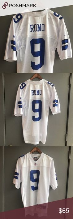 2d716d4398ee4 Dallas Cowboys Tony Romo Football Jersey Reebok Dallas Cowboys Tony Romo  Football Jersey America s Team.