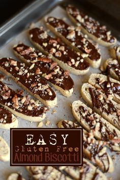 Easy Gluten Free Almond Biscotti from FITFOODIEFINDS.com
