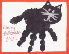 halloween handprint!