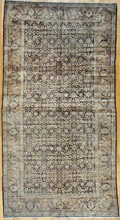 "Tabriz Persian Rug - 6' 0"" x 11' 3""  #tabriz #tebriz #antiquecarpet #antiquecarpets #antiquerug #antiquerugs #carpets #handknotted #handknottedrug #handmade #iran #iranianrug #oldcarpet #orientalcarpet #orientalcarpets #orientalrug #orientalrugs #persiancarpet #persiancarpets #persianrug"
