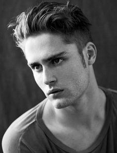 Mens Hair, model Jacques Naude.
