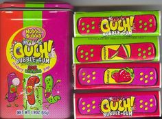 Ouch bubble gum! Great for the goodie bags!!!!
