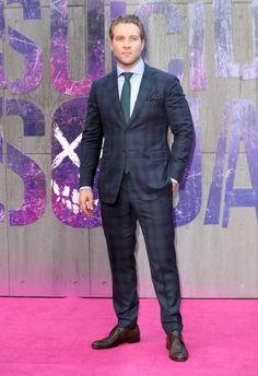 Jai Courtney attends the European Premiere of 'Suicide Squad' at Odeon Leicester Square on August 3, 2016 in London, England.