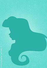 Ariel silhouette by petite tiaras ♥
