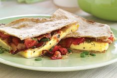 12 of 20 Quick Breakfast goodbye to boring breakfasts with this a.m spin on a Mexican staple. Get the recipe for Quick Breakfast Quesadilla here Breakfast On The Go, Breakfast Dishes, Breakfast Recipes, Breakfast Quesadilla, 15 Minute Meals, Brunch Recipes, Diet Recipes, Food And Drink, Yummy Food