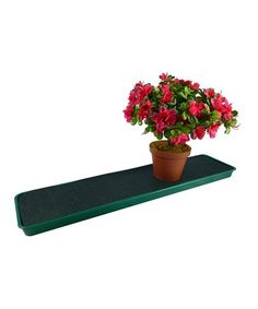 Another great find on #zulily! Self-Watering Windowsill Plant Tray #zulilyfinds