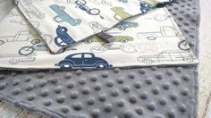 Baby Boy Is Sure To Snuggle With This Retro Rides Baby Blanket For Years To Come