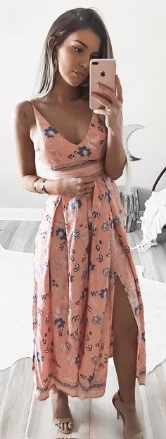 gypsy style addict: maxi dress  This is beautiful!  Slit may be too high, but it is very pretty.