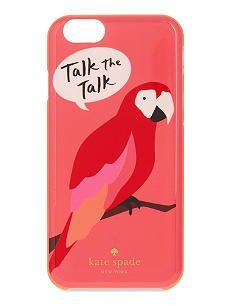KATE SPADE NEW YORK Talk the talk iPhone 6/6S case