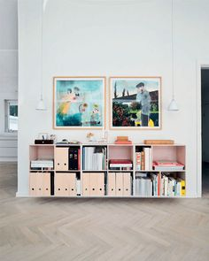 pretty in a prefab / sfgirlbybay - home of jewelry design cecilia broegger and her graphic designer husband jesper dahlgaard near copenhagen in denmark (magazine files from Ikea)