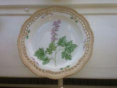 Royal Copenhagen Flora Danica Large Pierced Platter #3527