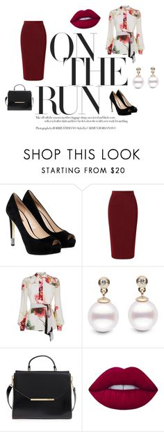 """""""Sexy elegant"""" by iya-rey-dorantes on Polyvore featuring moda, GUESS, Roland Mouret, Lanvin, Ted Baker y Lime Crime"""