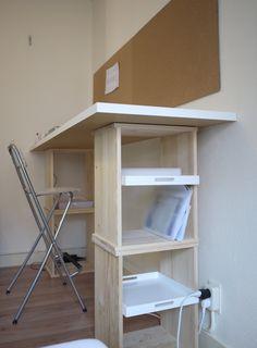 Ikea hack - rast standing desk
