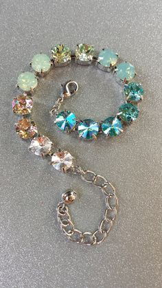 Ombre sabika inspired!!   Swarovski Crystal designer inspired trendy by KissMySassJewelry, $35.00
