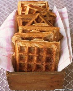 Banana-Nut Buttermilk Waffles Recipe