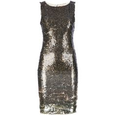 ALICE+OLIVIA sequinned dress ($645) found on Polyvore