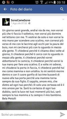 lettera per la figlia