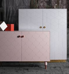 We always love a good IKEA hack. And the coolest one right now comes straight out of Sweden: a new company called Superfront that livens up your basic IKEA kits with special cabinet fronts, sides, tops, handles, and legs for your Bestå sideboards and Pax wardrobes.
