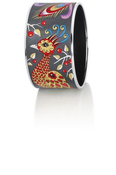 Diva Bangle from the collection PASSIONATE RUSSIA design GLORIOUS FIREBIRD.