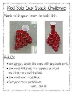 Team Building Challenge Rms Activities Pinterest Team Building