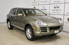 2010 Porsche Cayenne CAYENNE SUV 4 Doors Green for sale in North olmsted, OH http://www.usedcarsgroup.com/northolmsted-oh/2010-porsche-cayenne-wp1aa2ap9ala05785.html