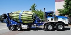 Cement Truck Wrap Top10 Vehicle Wraps- We don't understand the relationship between the cement truck and asparagus.. but it's still pretty clever and we like it!
