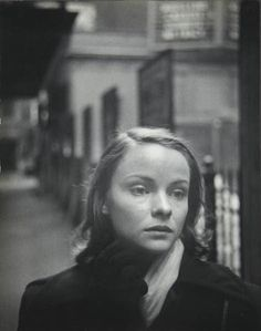 W. Eugene Smith - Portrait of actress Jean Pearson - Hard Times On Broadway