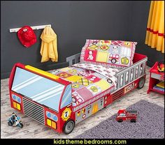 Fire+Truck+Multicolored+4-piece+Toddler+Bedding.jpg (504×446)