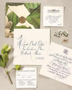 rustic chic spring wedding invitations/ elegant modern black and white wedding invitations/ stylish wedding invitations
