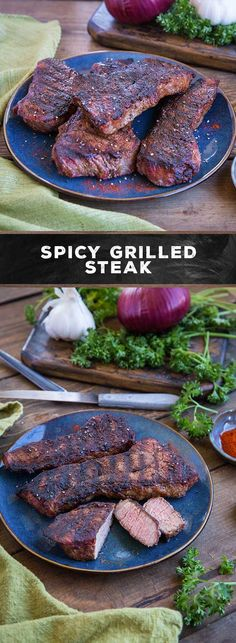 Amp up your grilled steak with the robust, aromatic spices paprika, sage, cayenne and black pepper. This flavor combination adds a zesty, fiery bite to your steak without added sauce or marinades.