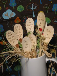 Wood Burned Wooden Spoon Stir the Pot. $3.00, via Etsy.