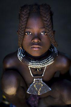 Himba tribe girl, Epupa Namibia