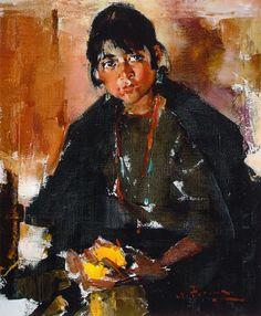 Индейская девушка (1927—1933). Николай Фешин
