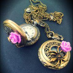 """SPIDER BLOSSOM WATCH"" by Francesca Dani (MyBones Jewels)"