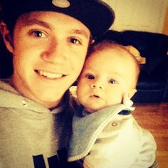 Nialler and Baby Theo