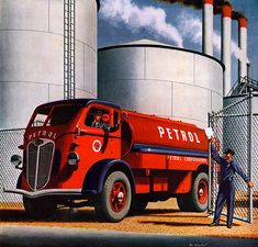 Plan59 :: Classic Truck Art :: 1944 Autocar
