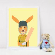 Digital Prints, Print, Playroom Decor, Printable Wall Art, Kangaroo, Wall Art, Australian Animals, Print Safari Animals, Baby Shower Gift