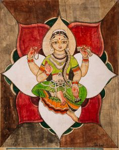 Krishna for Today Ganesha Painting, Tanjore Painting, Art And Illustration, Saraswati Goddess, Durga, Diy Framed Art, Indian Folk Art, Indian Art Paintings, Hindu Deities