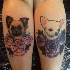 น่ารัดมาก tattooชิวาวา