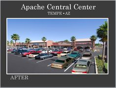Apache Central Center in Tempe AZ Re-Developed by Michael A Pollack of Pollack Investments in Mesa AZ. For all available leases visit our website at www.pollackinvestments.com