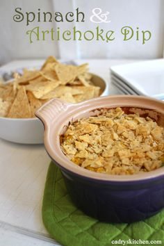 If you are a spinach and artichoke dip lover like me, you must make this. It's dense and velvety with generous chunks of artichokes, smooth and cheesy by way of nutritional yeast flakes & white miso paste.