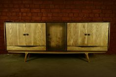 Console/Credenza. Solid Wood. Handmade. Minimalist.