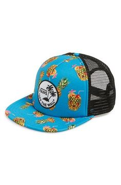 Vans 'Drained and Confused' Mesh Snapback Trucker Cap available at #Nordstrom