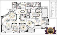 Luxury House Plan Villa 17 by Antonovich-designs House Plans Mansion, New House Plans, Dream House Plans, Classic House Design, Minimalist House Design, Modern House Design, Luxury Floor Plans, Luxury House Plans, Architectural House Plans