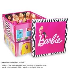 Neat-Oh! Barbie ZipBin Dream House Toybox & Playmat (Idea for grandmas) - These zip bins are so cool!  There are oodles of different sizes and styles.  Not only are they entertaining for the kiddos, but they are sanity-preservers for the parents.  Great idea!