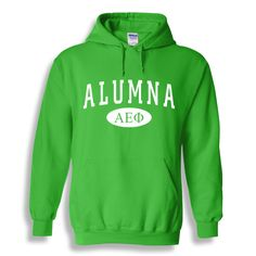 Alpha Epsilon Phi Alumna Sweatshirt Hoodie from GreekGear.com